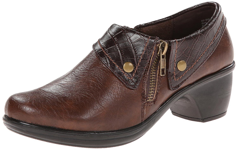 Easy Street Women's Darcy Boot B00CDBV9EA 8.5 2W US|Tan/Brown Crocodile/Gore