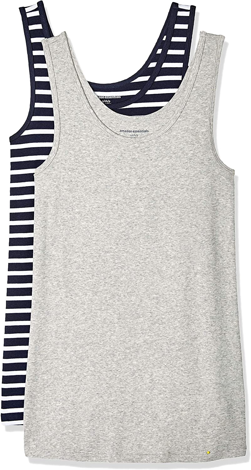 Amazon Essentials Women's 2-Pack Slim-Fit Tank
