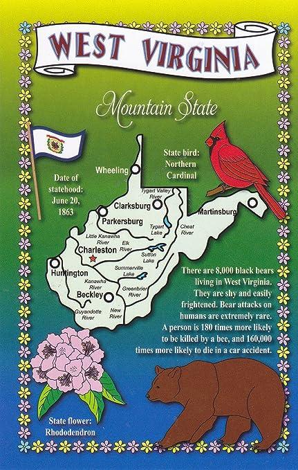 Amazon com: STATES2WVI - WEST VIRGINIA - Mountain State