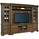 Pulaski American Attitude Entertainment Console Table Base (Hutch And Piers  Not Included)