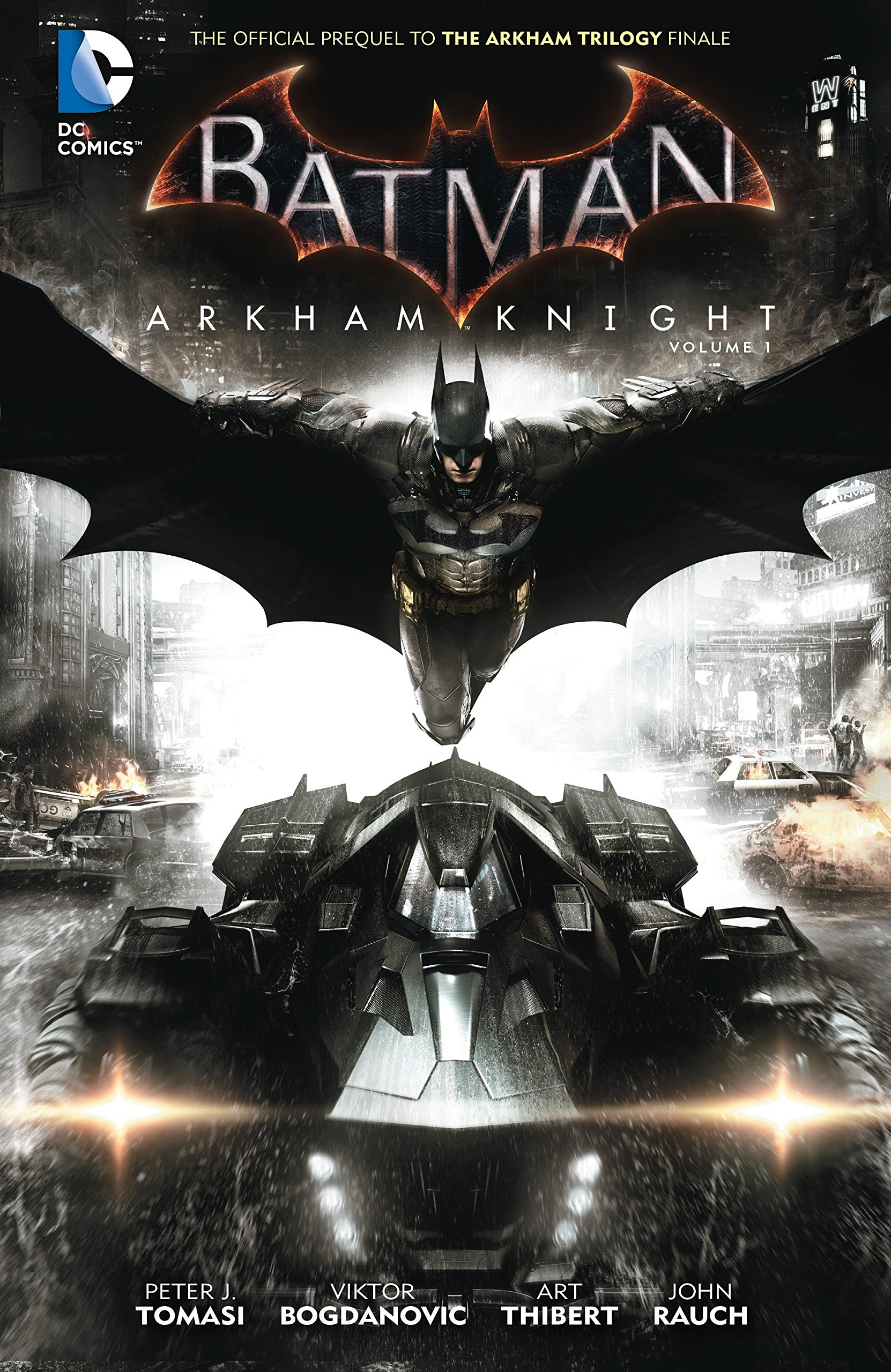 Read Online Batman: Arkham Knight Vol. 1: The Official Prequel to the Arkham Trilogy Finale pdf