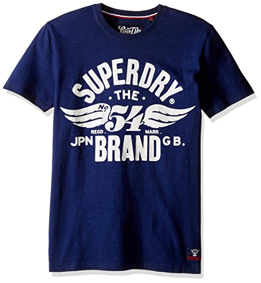 270733adab Superdry Men's 54 Brand Graphic T-Shirt