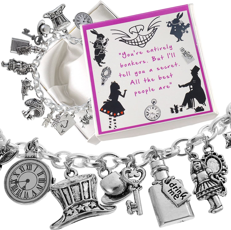 ladies grey glass heart pendant jewellery scarf scarves charm present gift
