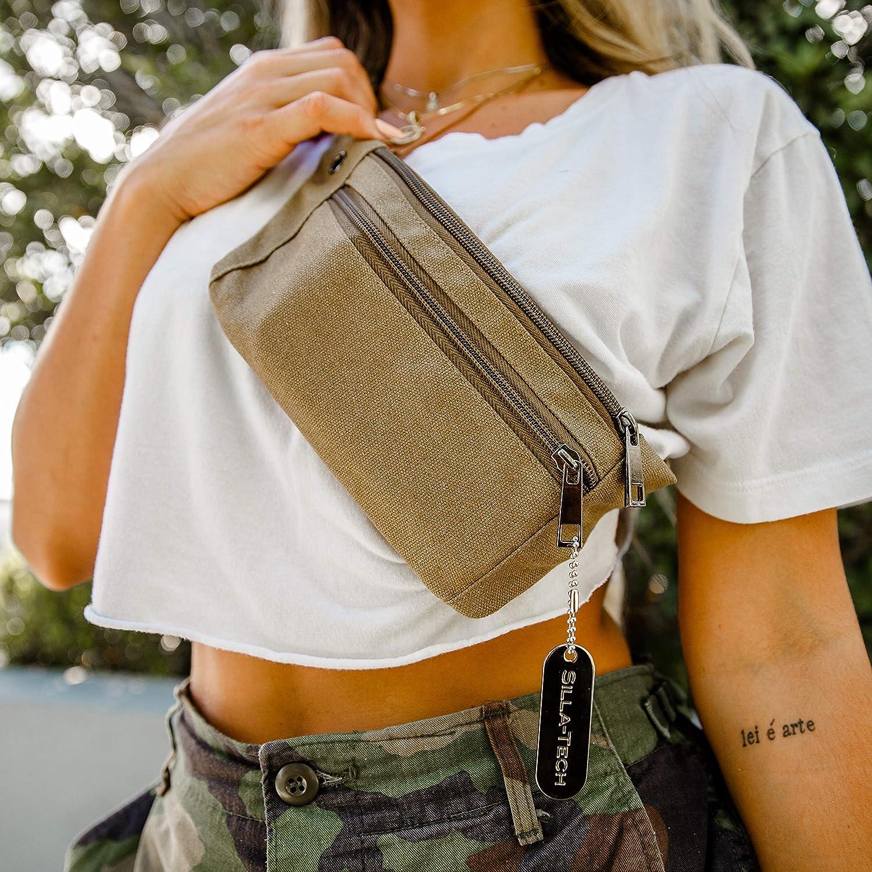 Amazon.com: Silla-Tech Tactical Fanny Packs Set 2 Durable Military Style Waist Bag Daily Use: Silla-Tech