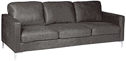 Peachy Amazon Com Homelegance Breaux Modern Track Arm Sofa With Ocoug Best Dining Table And Chair Ideas Images Ocougorg