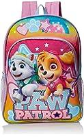 Nickelodeon Girls' Paw Patrol Girls 16 Inch Backpack