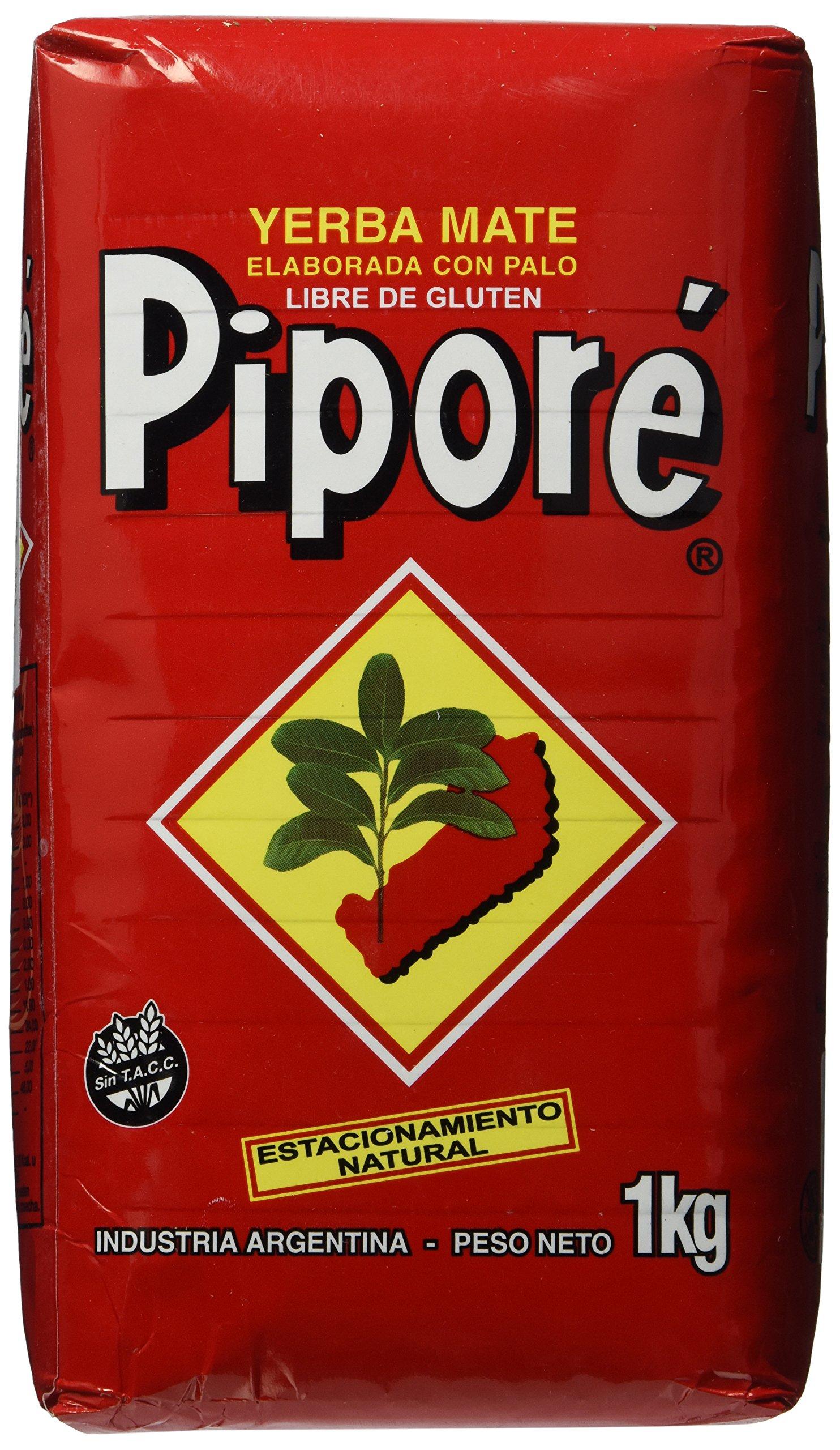 Yerba Mate Pipore - Regular - 2.2 Lbs - 1 Kilo - Gluten Free