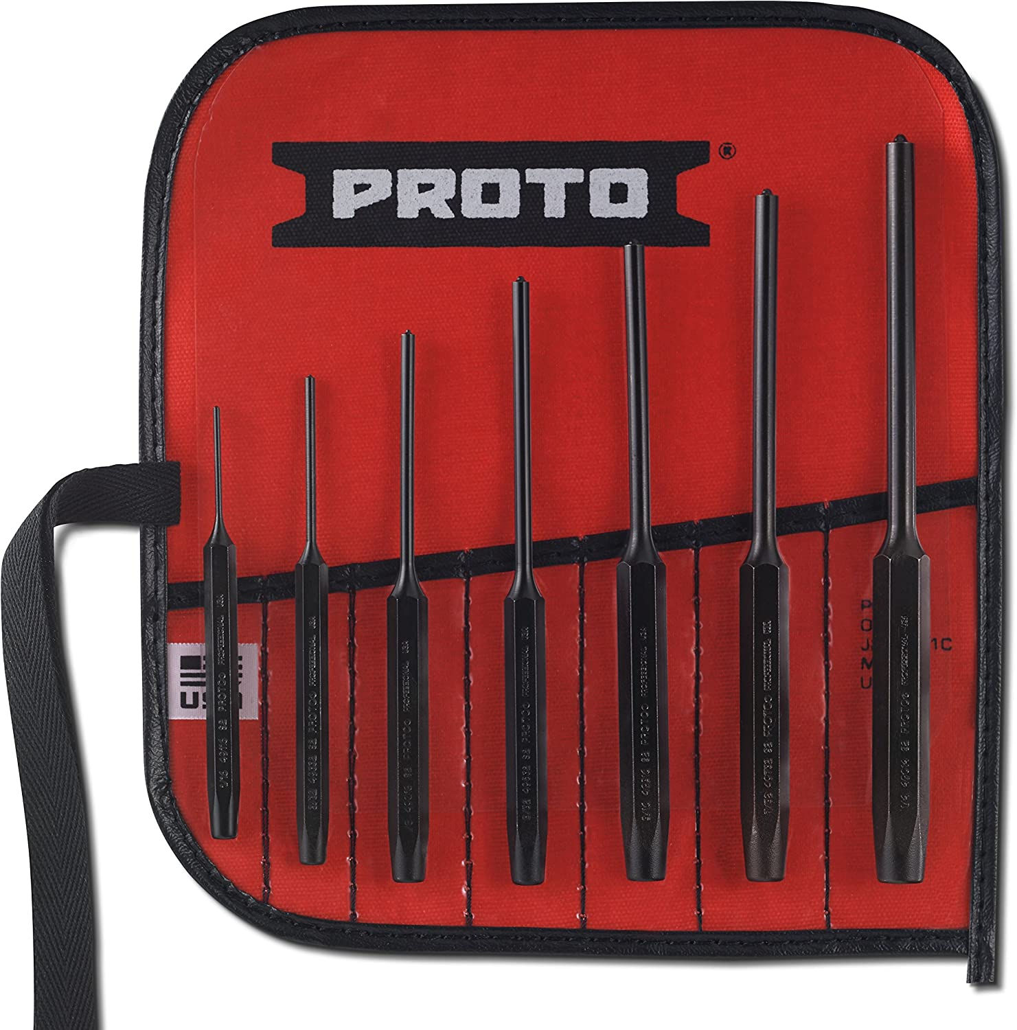 Performance Tool W7559 9pc Roll Pin Punch Set 9pc Roll Pin Punch Set