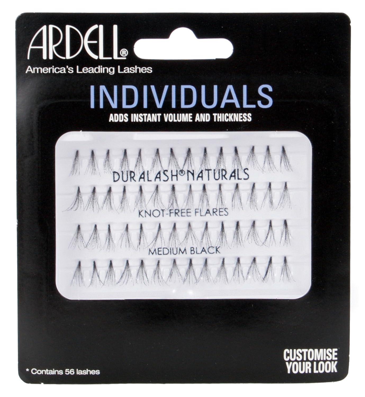 Ardell AII68127 - Pestañas postizas, individuales, color negro AII68127B