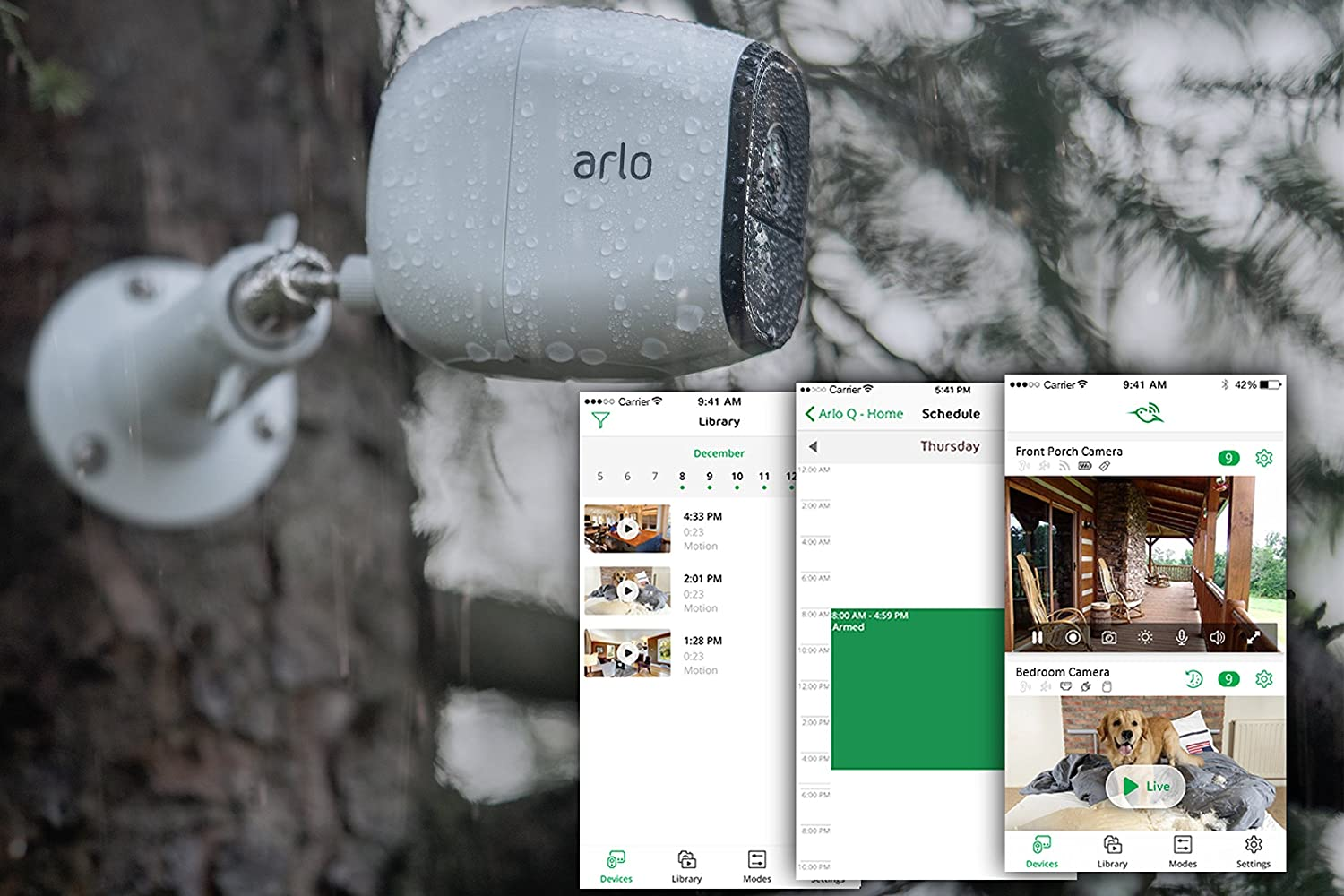 Arlo Pro – Add-on Camera Rechargeable, Night vision, Indoor Outdoor, HD Video, 2-Way Audio, Wall Mount Cloud Storage Included Works with Arlo Pro Base Station VMC4030