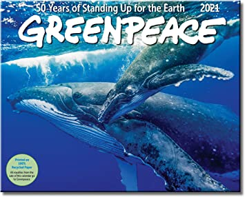 Amazon.: Greenpeace Wall Calendar 2021, Monthly January
