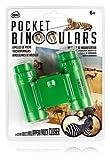 NPW Kids Compact Binoculars 4x30 - Green Children's Pocket Binoculars
