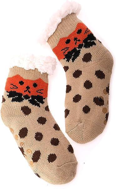 high point Boys Novelty Slipper Socks