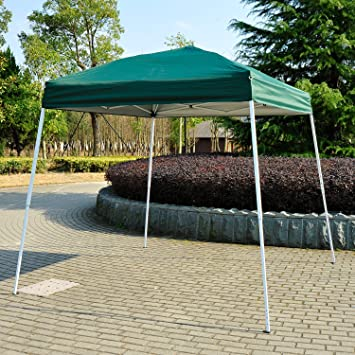 Outsunny 8 x 8ft Outdoor Easy Pop Up Tent Instant Party Canopy Shelter Market Sun Shade & Outsunny 8 x 8ft Outdoor Easy Pop Up Tent Instant Party Canopy ...