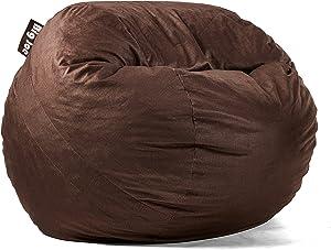 Big Joe Lenox Fuf Foam Filled Bean Bag, Medium, Cocoa