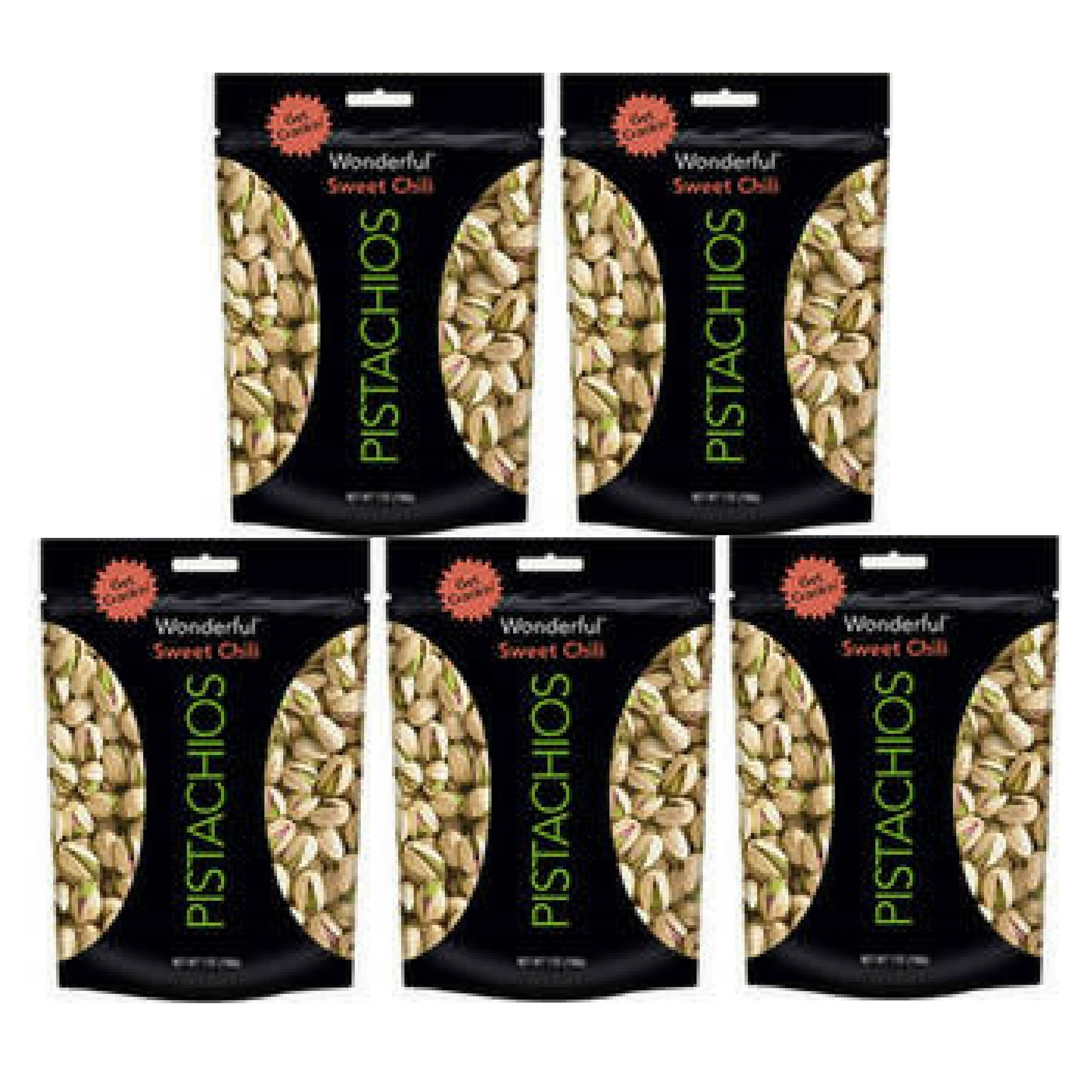 Wonderful Pistachios Sweet Chili, 7.0 OZ - 5 count