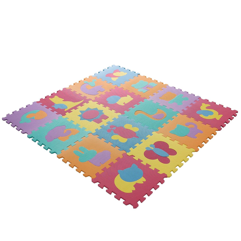 gym garage interlocking foam itm exercise play kids office mats eva soft floor mat details about