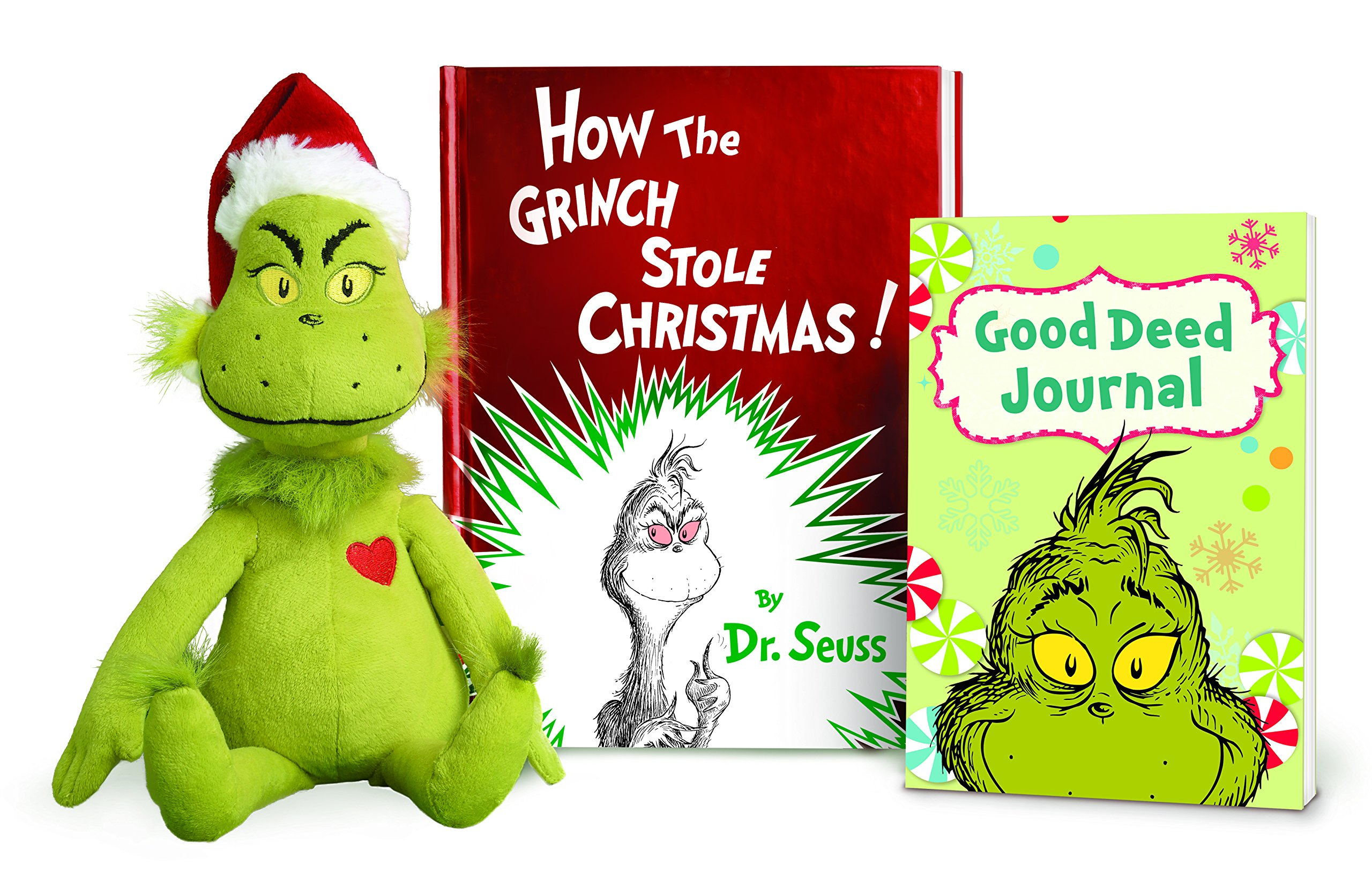 How the Grinch Stole Christmas! Book and Grinch (Classic Seuss ...