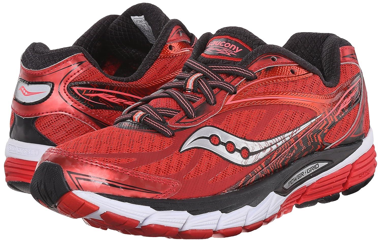 Saucony Women's Ride 8 Running Shoe B00YBE410G 8.5 B(M) US|Red/Black