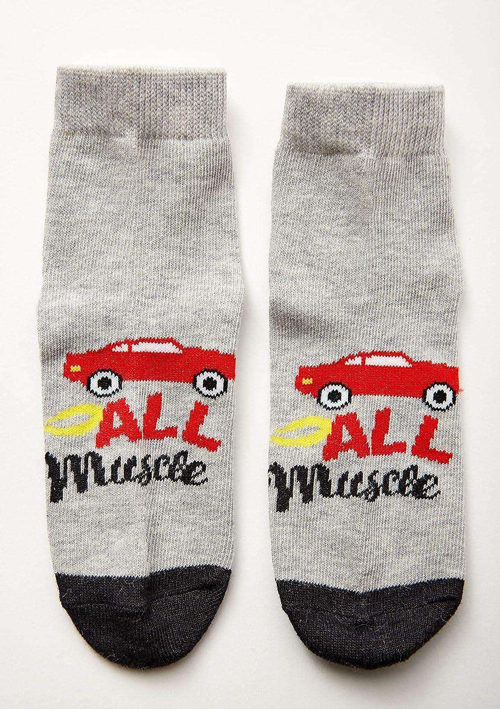 Spotted Zebra Kids 12-Pack Ankle Socks