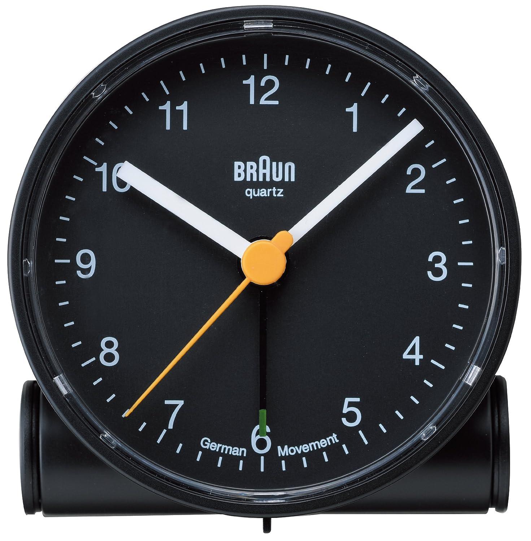 【正規輸入品】 BRAUN(ブラウン) 目覚まし時計 BNC001BKBK B006IJ68O4 ブラック ブラック