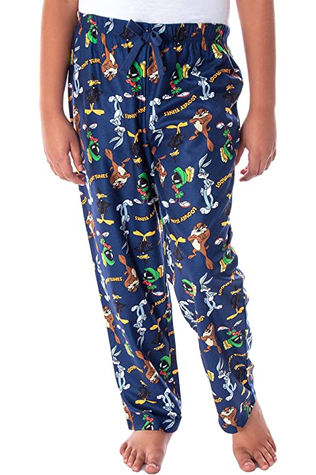 Looney Tunes Bugs Bunny Daffy Duck Porky Pig Womens Pajama Tank Top
