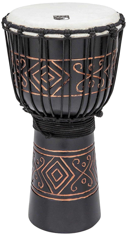TOCA TSSDJ-MBO Street Series Carved Djembe-Black ジャンベ ミディアムサイズ ブラックオニキス   B00MI1RMDC