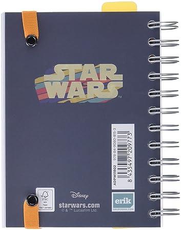 Grupo Erik Editores Star Wars- Agenda escolar 2018-2019 día página multilingüe, 11.4 x 16 cm