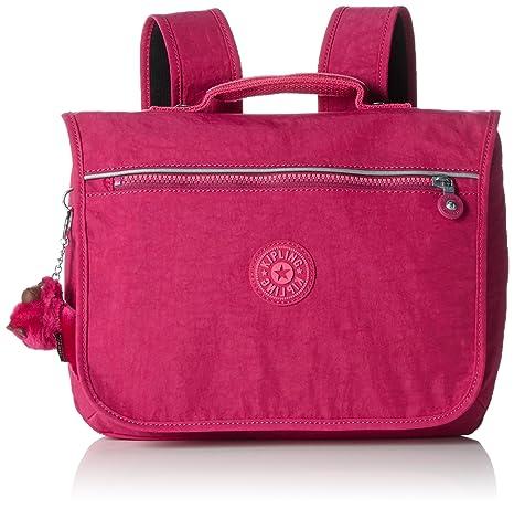 Kipling - NEW SCHOOL - CARTERA ESCOLAR MEDIANA - Cherry Pink Mix - (Rosa)