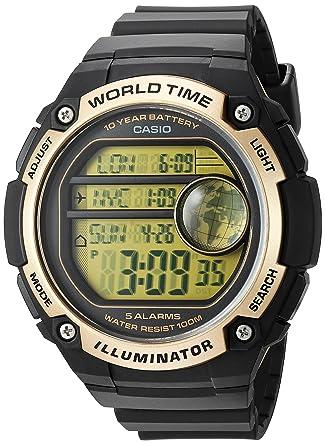 Amazon Com Casio Men S Classic Quartz Resin Casual Watch Color