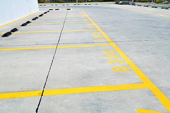 Reflektierende Straße Markierungsnagel aus Hochwertigem Kunststoff 8 tlg