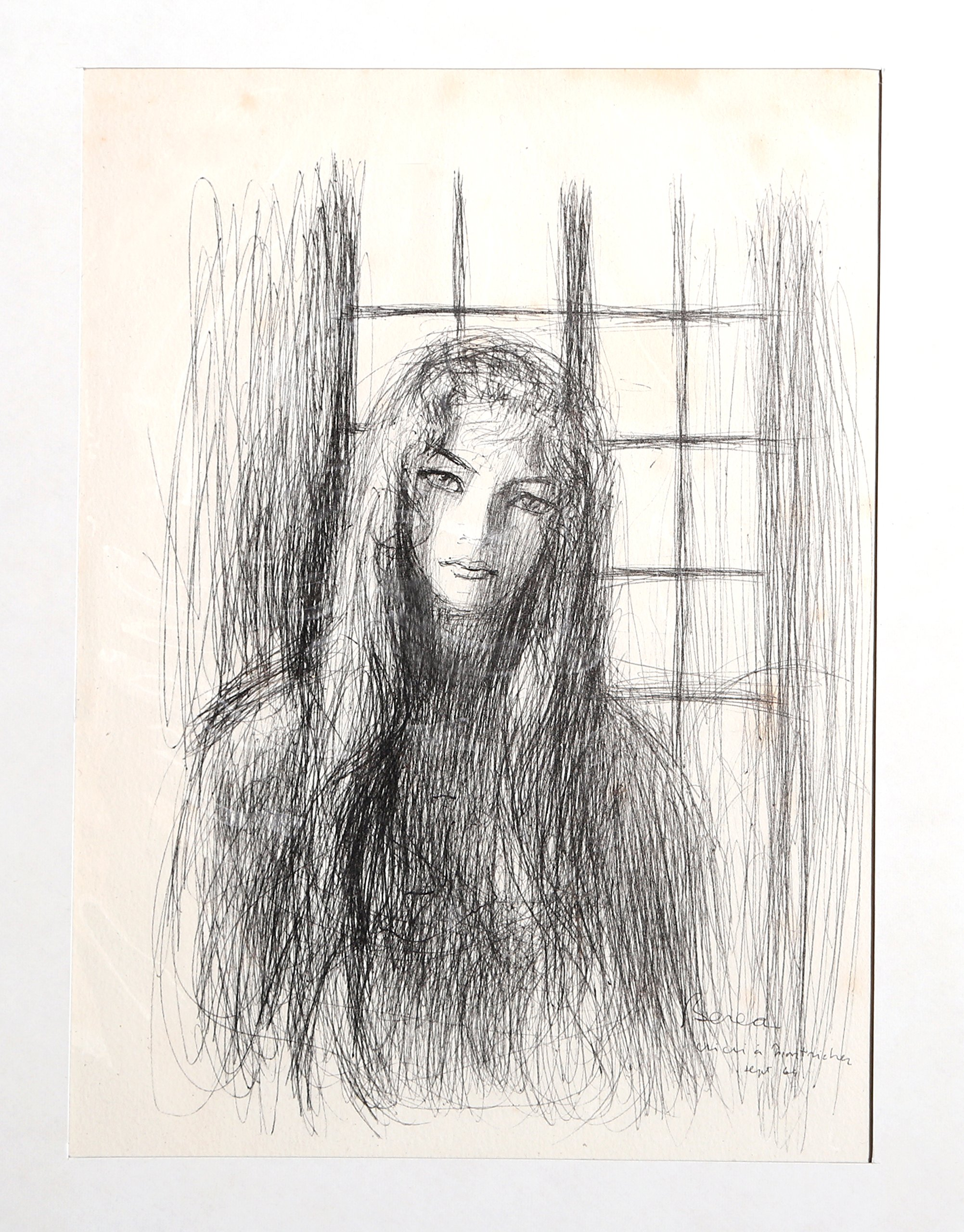 Portrait of a Woman near Window - 11