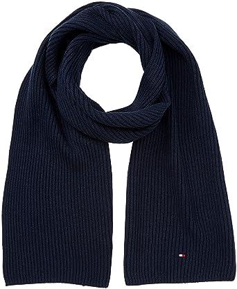 933c71185a653 Amazon.com: Tommy Hilfiger Pima Cashmere Mens Scarf Blue: Clothing