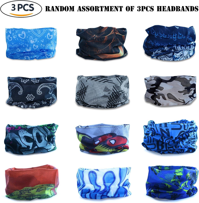 Bufandas Mu/ñequera Paisley Casco Liner Datechip Multifuncional Headwear 12-In-1 Magic Bufanda Diadema UV Escudo Bufanda Pasamonta/ñas Headwrap Bandana Braga Cintas Deportivas para el Pelo