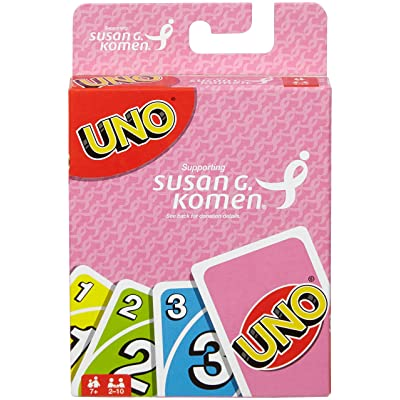 UNO: Susan G. Komen - Card Game: Toys & Games