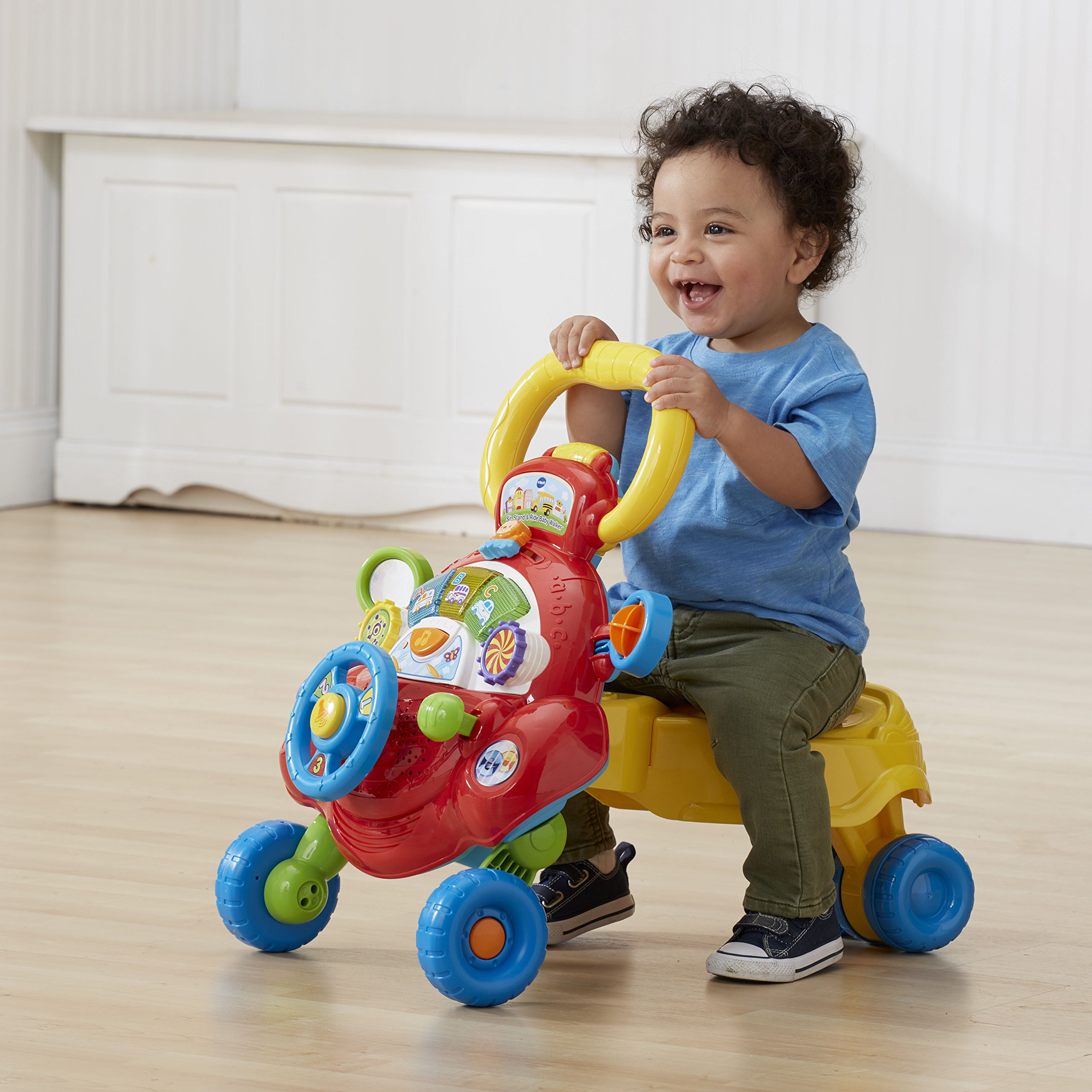 VTech Sit, Stand and Ride Baby Walker (Frustration Free Packaging) (Amazon Exclusive) by VTech (Image #4)
