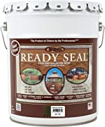 Ready Seal 535 Exterior Stain and Sealer for Wood, 5-Gallon, Mission