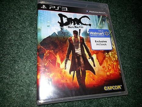 Amazon.com: DMC : Devil May Cry Ps3 w/ Exclusive Art Book ...