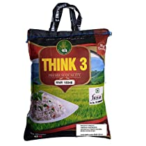 [LD] THINK3 Diabetic Control White Rice RNR 15048 with Low glycemic Index (4.5 KG)