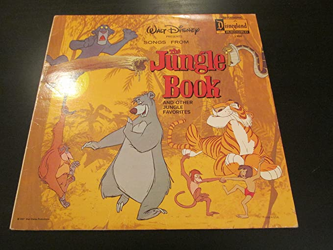 The Jungle Book Songs From The Walt Disney Motion Picture Amazon