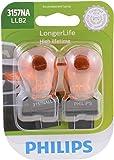 Philips 3157NALLB2 LongerLife Miniature Bulb, 2 Pack