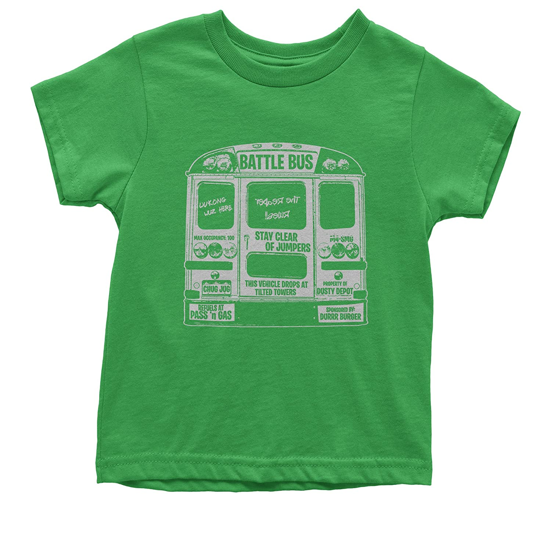 FerociTees Battle Bus Fortnight Fort Royale Youth T-shirt 3094-K