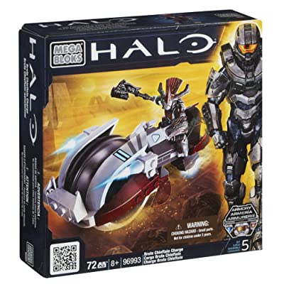 Mega Bloks Halo Brute Chieftan Charge: Toys & Games