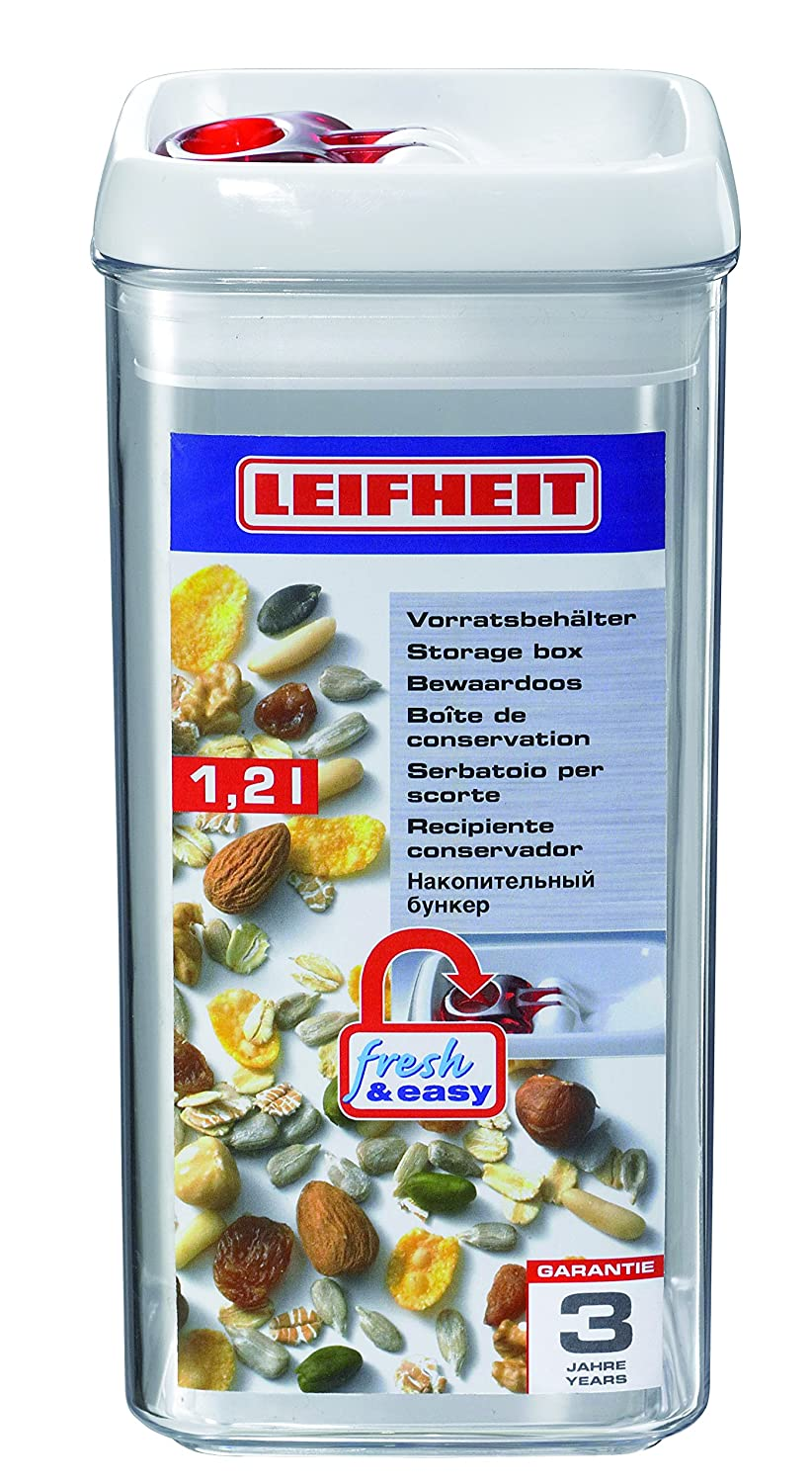 Amazon.com Leifheit 31211 Fresh and Easy Storage Container 6.7-Cup Square Food Savers Kitchen u0026 Dining  sc 1 st  Amazon.com & Amazon.com: Leifheit 31211 Fresh and Easy Storage Container 6.7-Cup ...