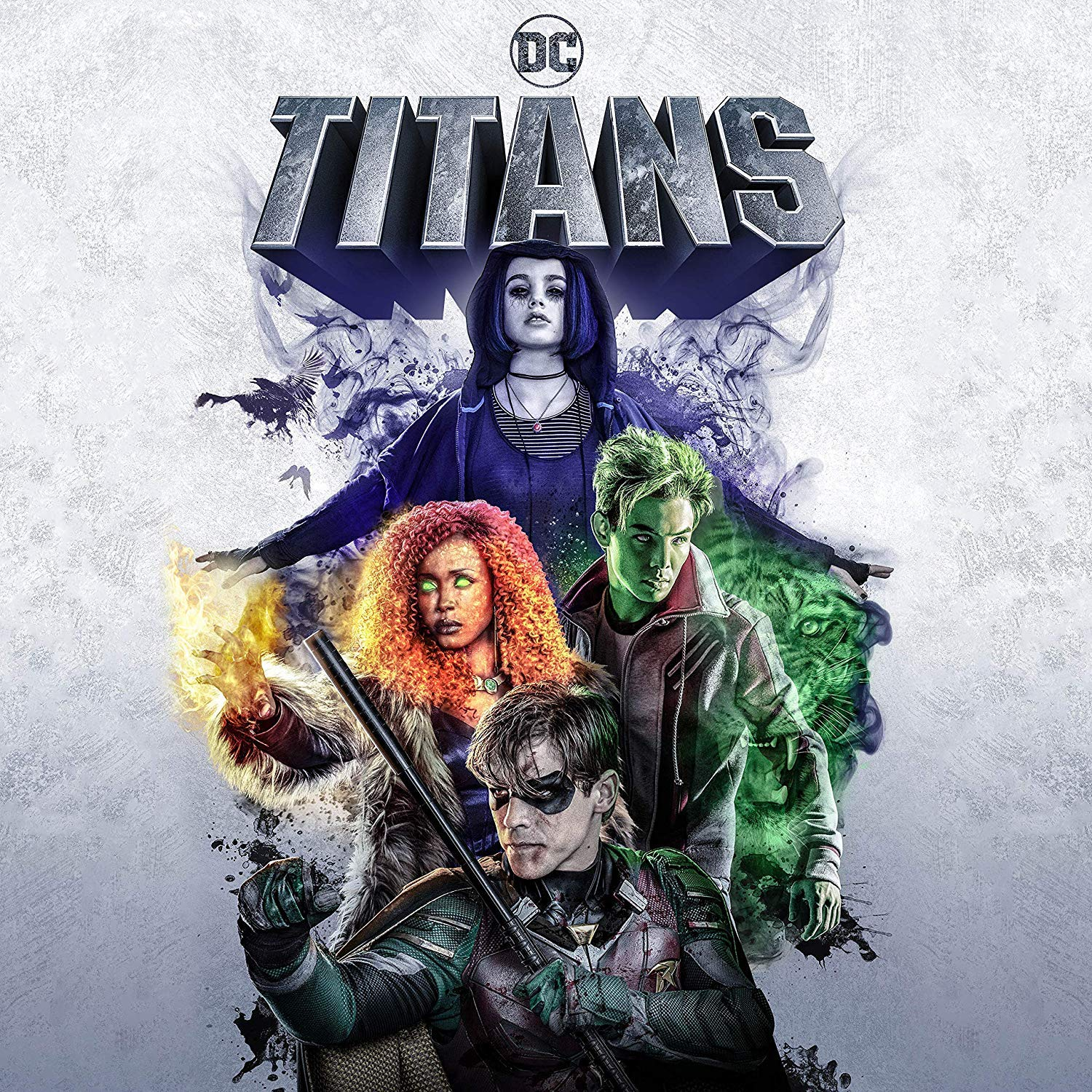Amazon.com: Titans: The Complete First Season (Blu-ray): Various ...