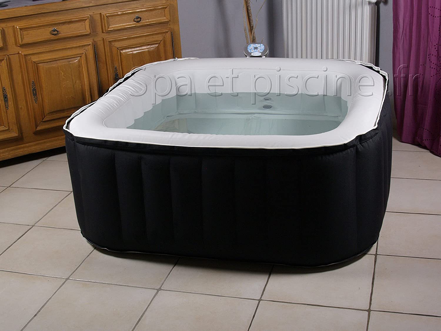 Spa hinchable water Health FIRSTY 3/4 plazas: Amazon.es: Hogar
