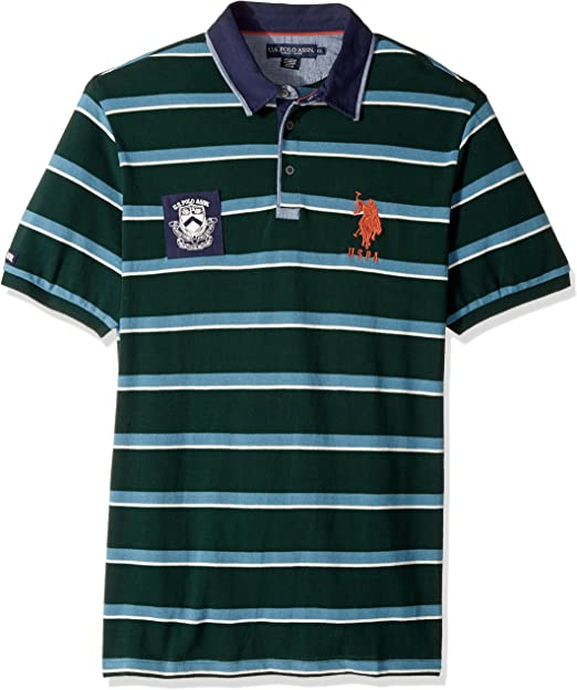 U Mens Polo Shirt Green Size Small S Polo Assn