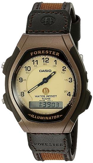 6eac7c584ca3 Casio FT600WB-5BV Ana-Digi Forester Reloj deportivo iluminador para hombre