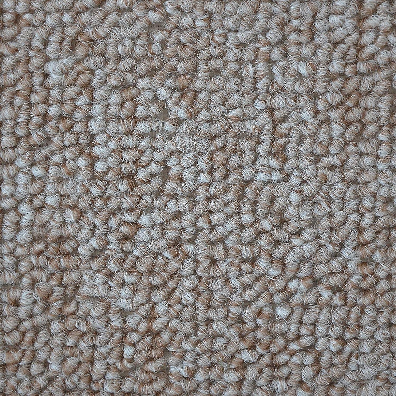 M/áximo Confort London Gris Claro,22x65 cm M/últiples Colores casa pura Alfombrillas Semicirculares Escaleras Alfombras Antideslizantes Escaleras Set 15 pz