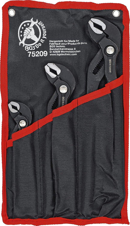 Kraftmann 75209 | Juego de picos de loro | 175 / 240 / 300 mm | 3 piezas